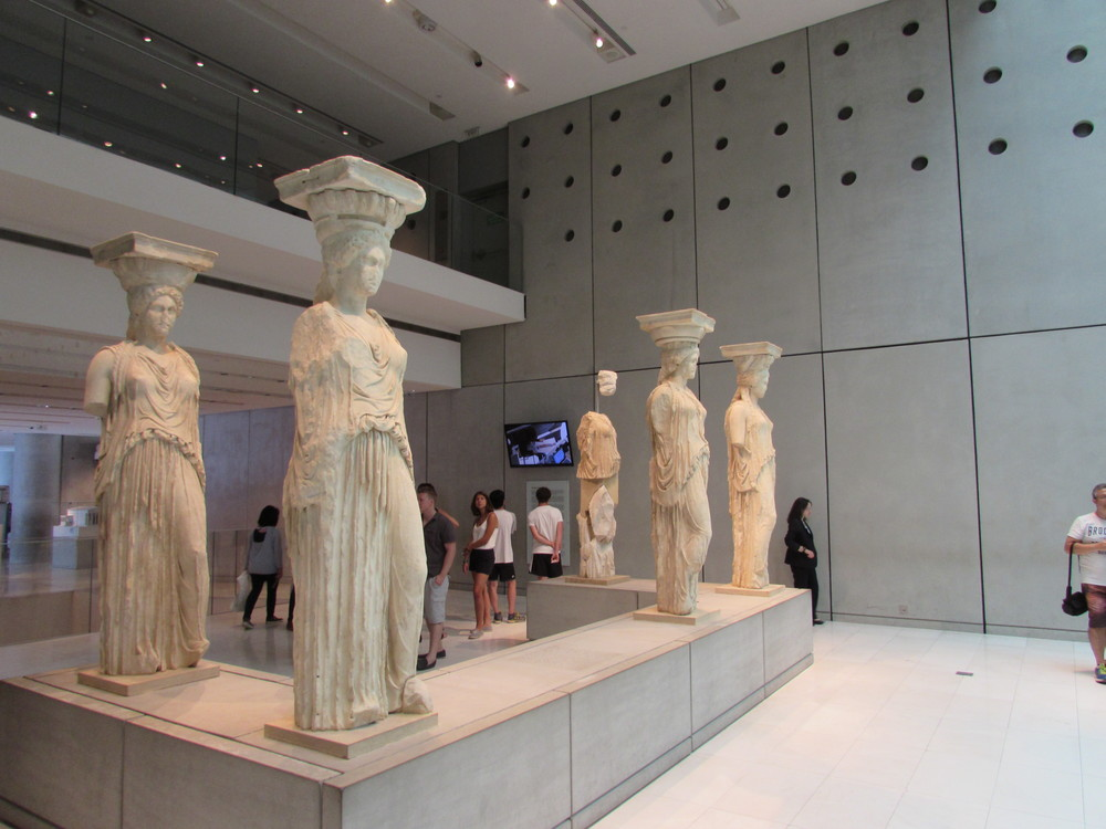 Visiting the New Acropolis museum during a 1 day in Athens itinerary