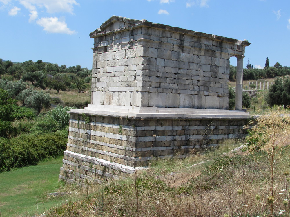 Ancient Messene in the south west Peloponnese of Greece.