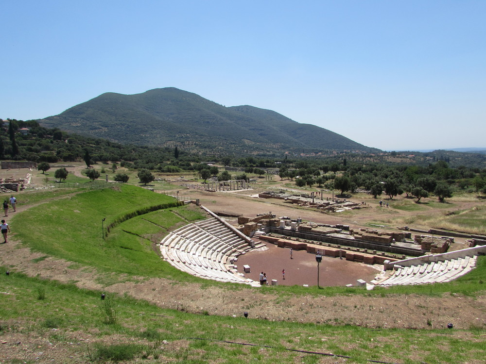 Ancient Messene in Greece is one of the most underrated archaeological sites in the country.