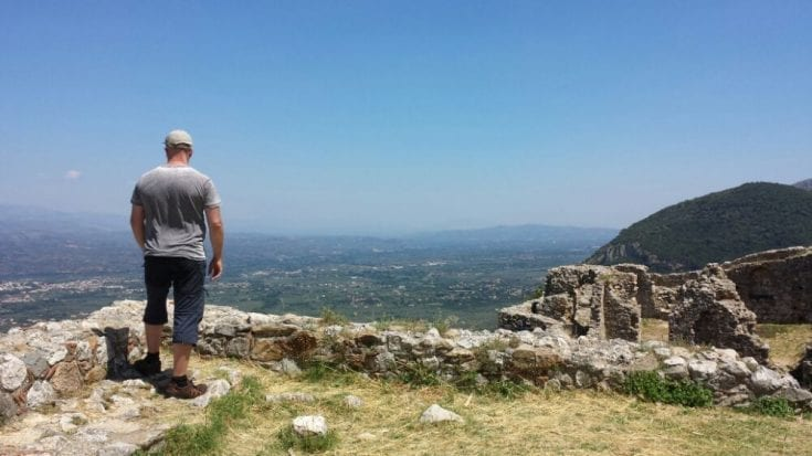 Mystras - Byzantine Castle Town and UNESCO Site in Greece