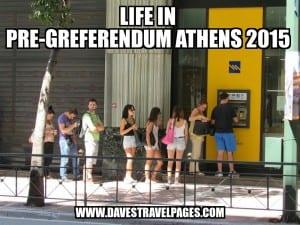 Greferendum Week – Daily Life in Athens 2015