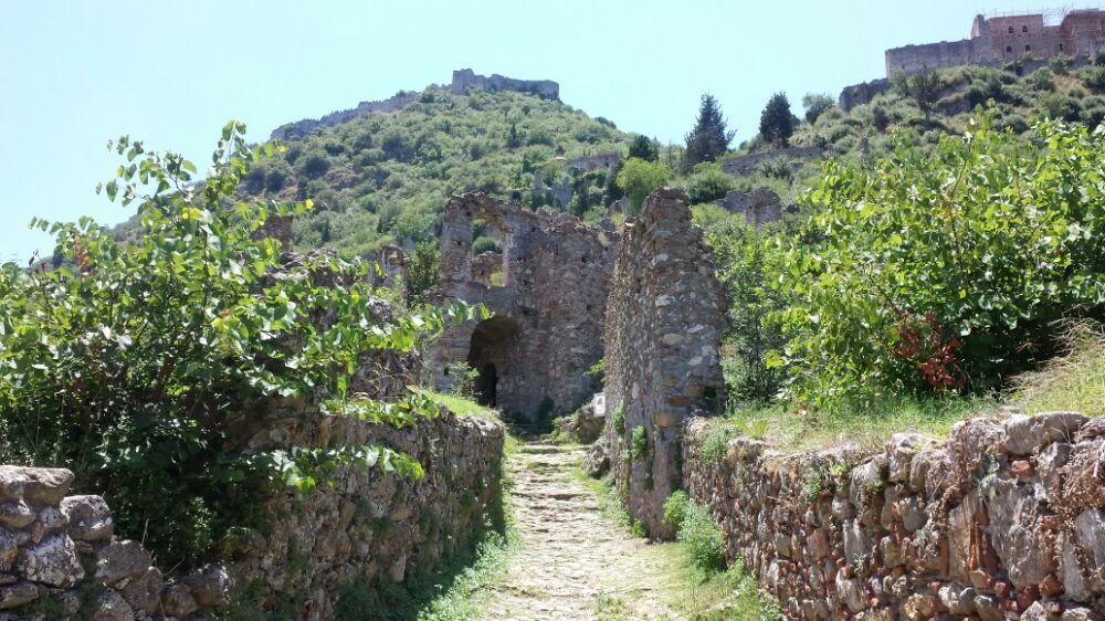 Mystras UNESCO World Heritage Site in Greece