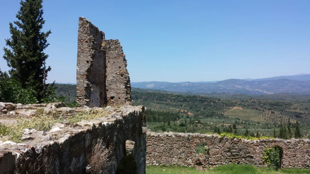 View from Mystras