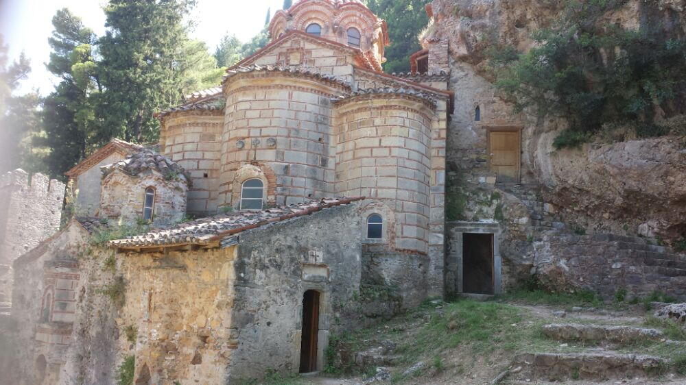 The UNESCO site of Mystras in Greece