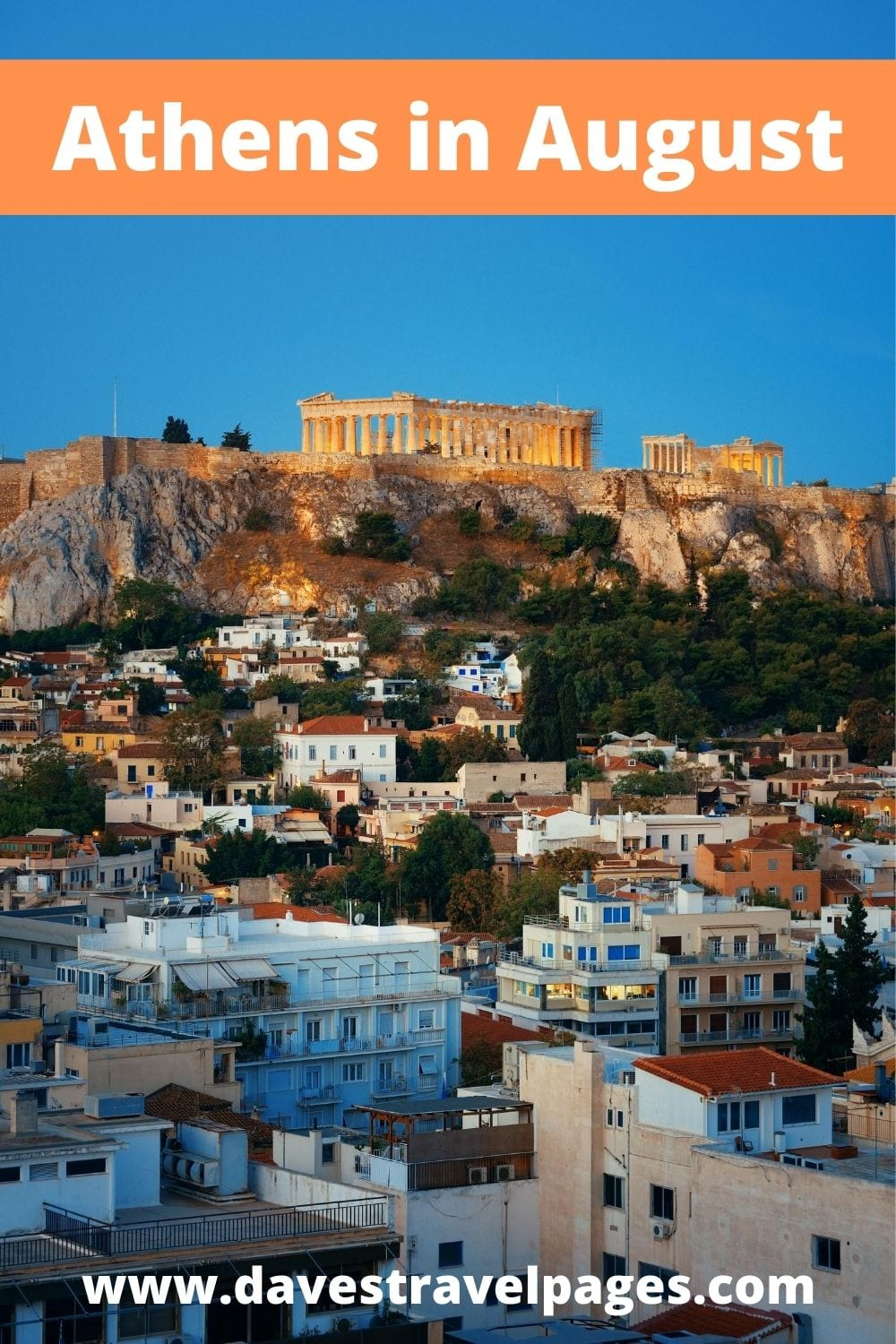 Reasons to visit Athens in August