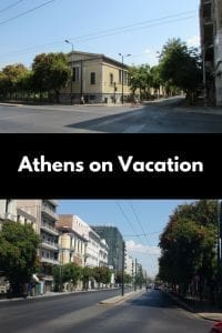 Athens on Vacation