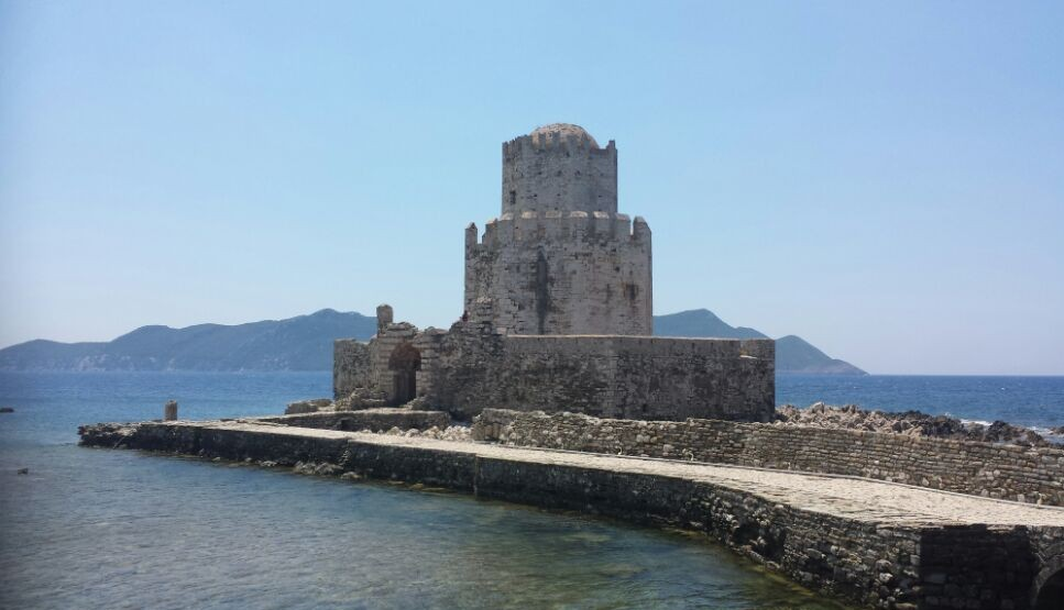 Methoni castle in Greece