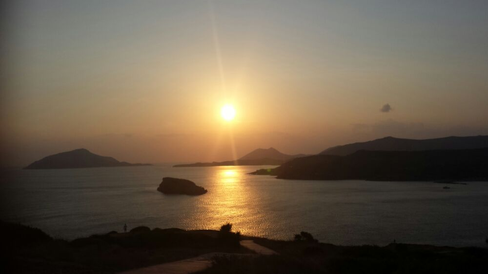 Cape Sounion day trip from Athens sunset