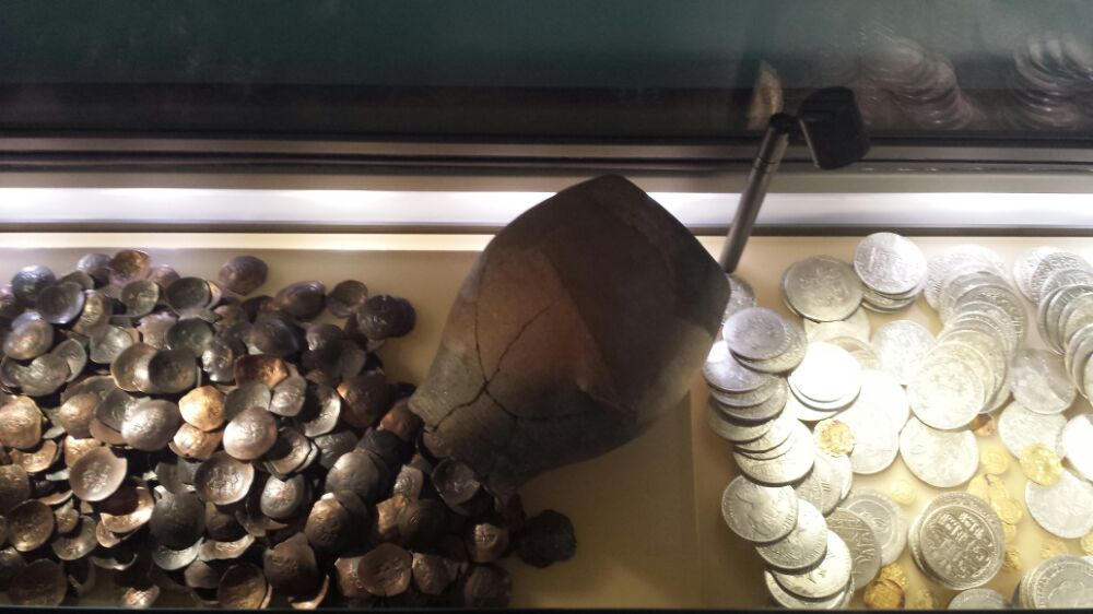 Coin hoard from the Numismatic Museum in Athens