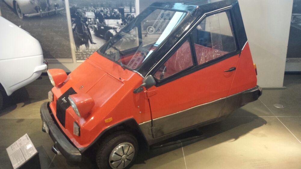 Greek car at the Hellenic Motor Museum