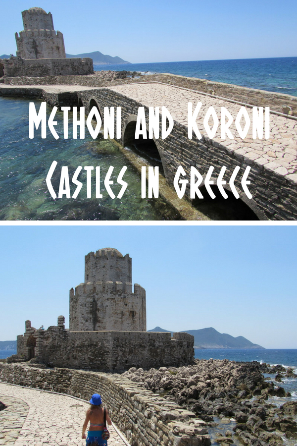 Methoni Castle and Koroni are two must-see Peloponnese tourist attractions in Greece. These Venetian castles could almost be straight out of Game of Thrones!