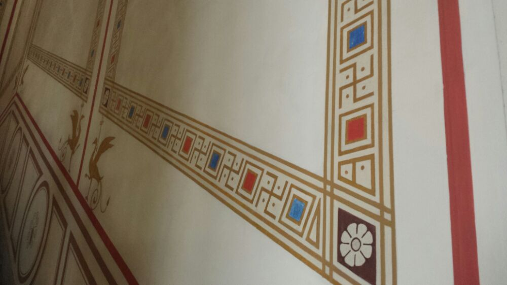 Swastika designs in the Numismatic Museum of Athens