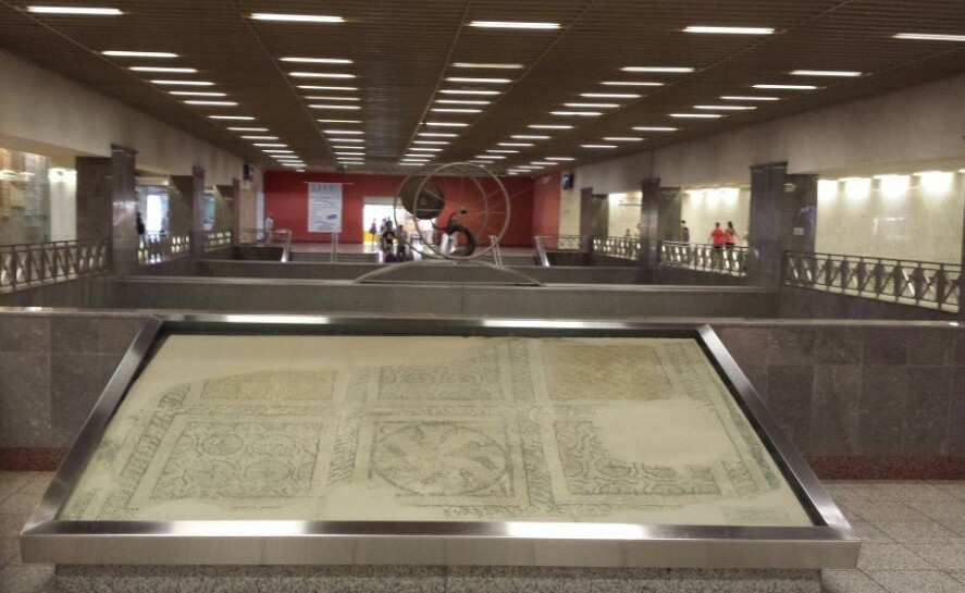 The Syntagma Metro Station Archaeological Collection