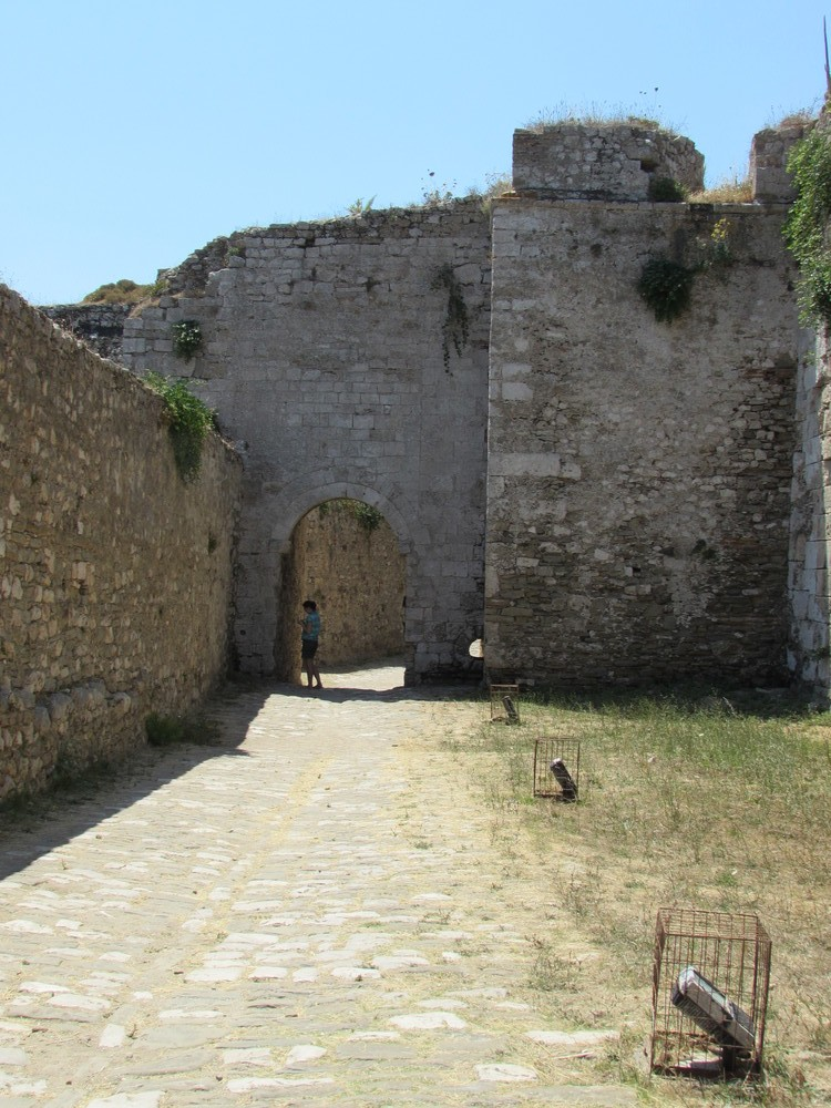 Inside Methoni castle in Greece. Both Koroni and Methoni castles are known as the Eyes of Venice.