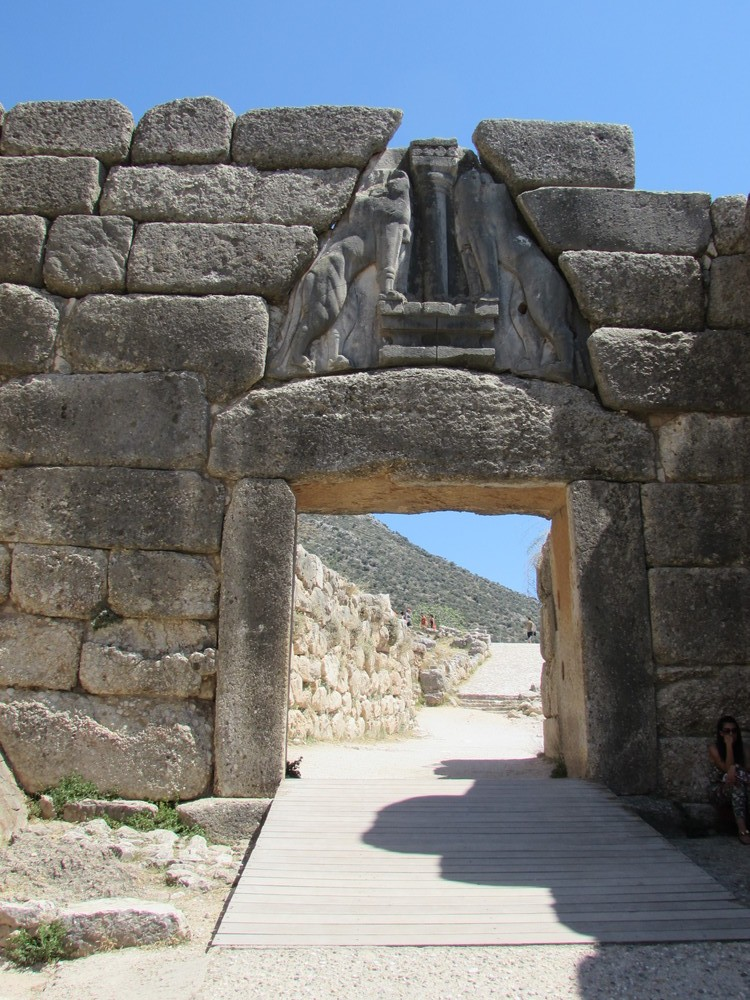 The Lion Gate at Mycenae