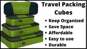 Reasons to use travel packing cubes