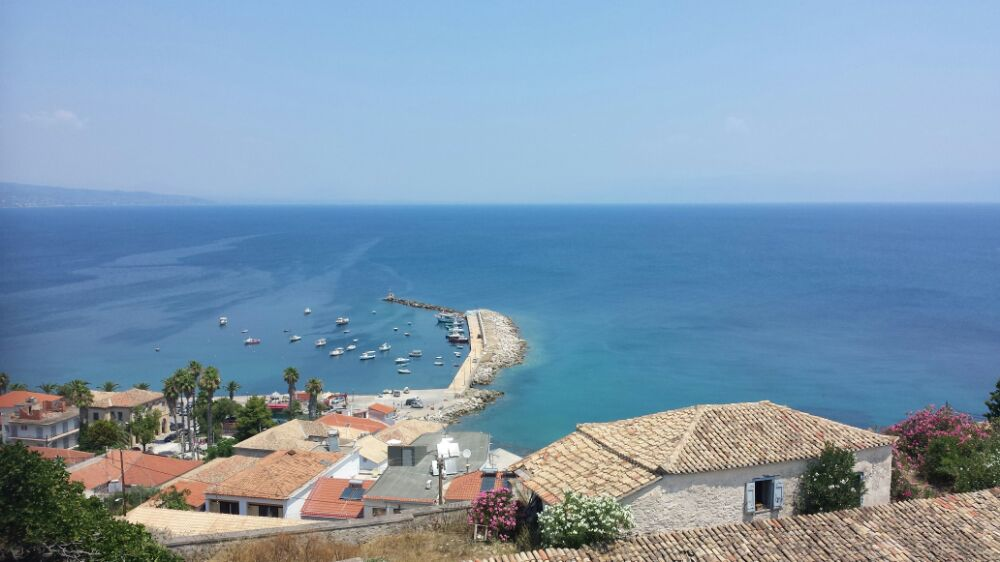 View from Koroni castle