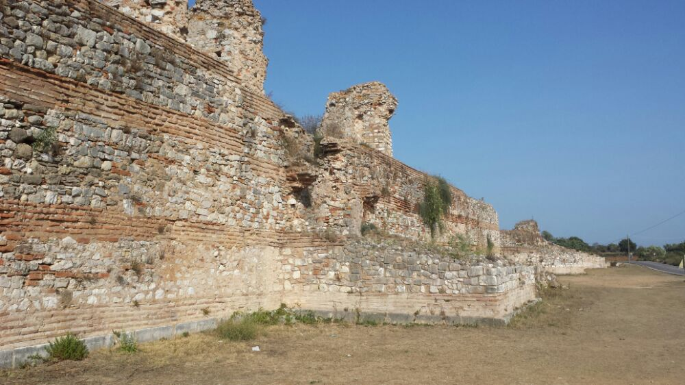 Ancient Nikopolis in Greece