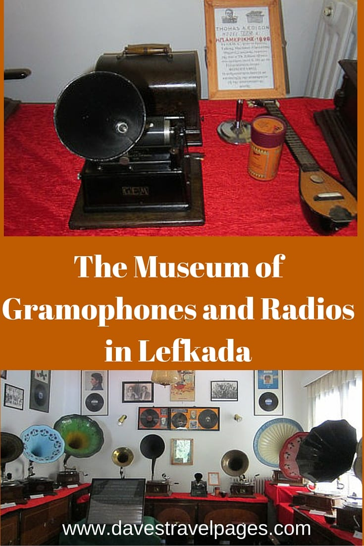 The Museum of Gramophones and Radios in Lefkada, Greece.