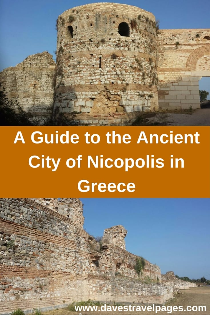 A Guide to the Ancient City of Nicopolis in Greece