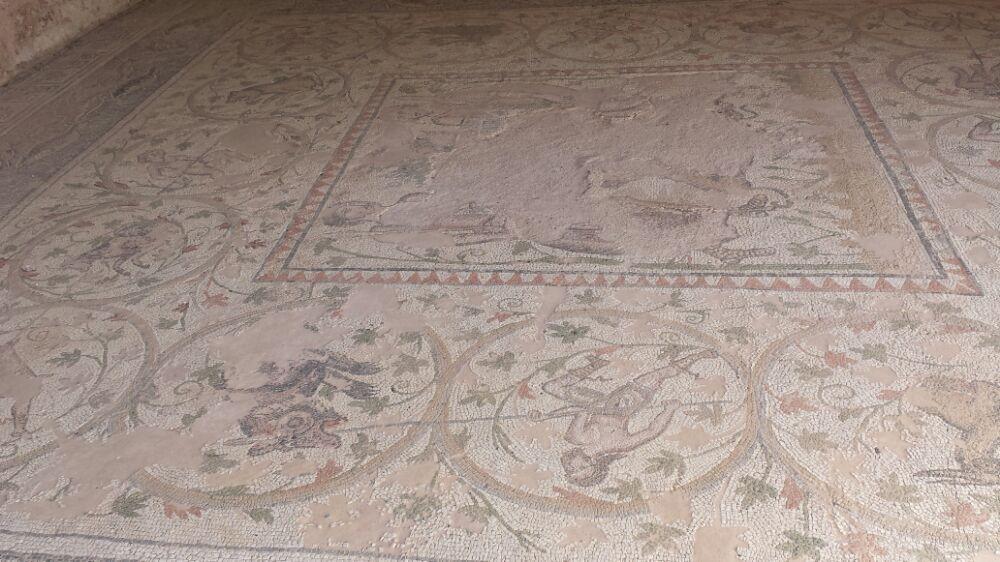 Mosaic in Nicopolis