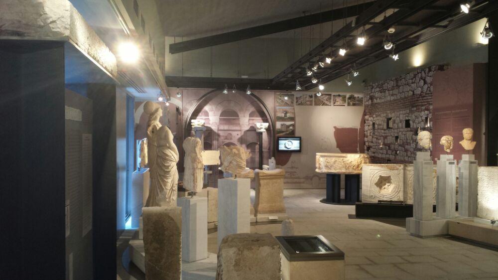 The Nikopolis Museum in Preveza, Greece