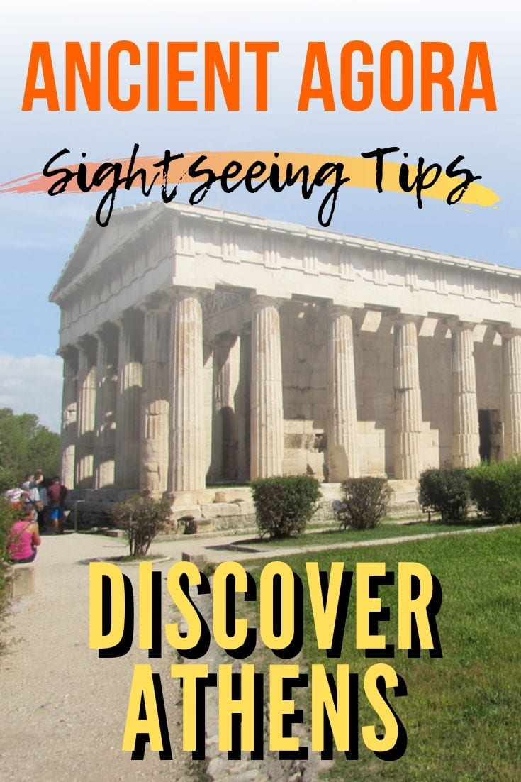 A guide to sightseeing in the Ancient Agora in Athens Greece