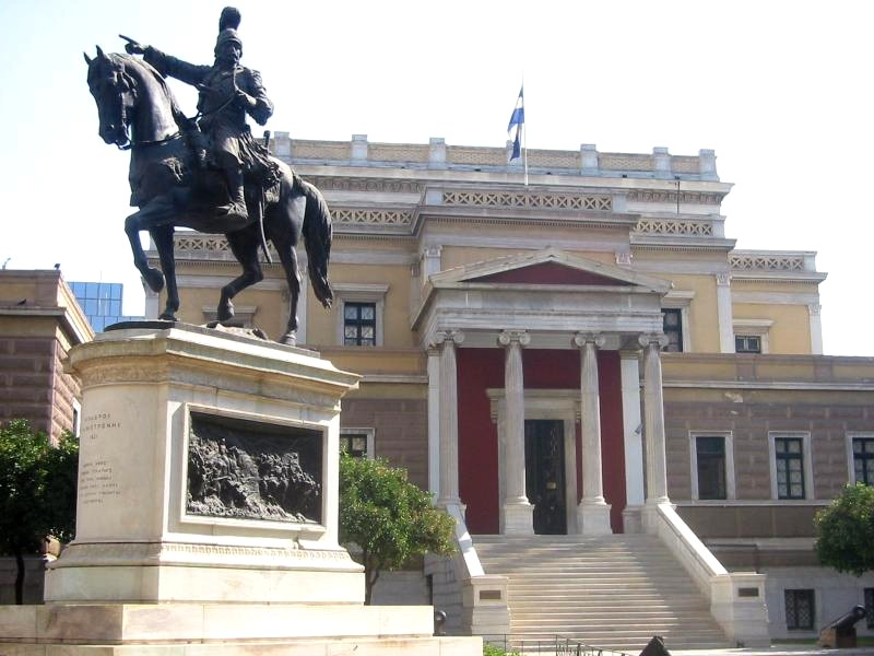 The Kolokotonis Statue in AThens - Athens walking tours