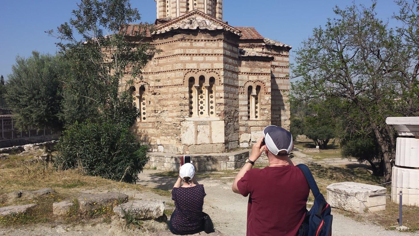 Church of the APostles in the Agora Athens
