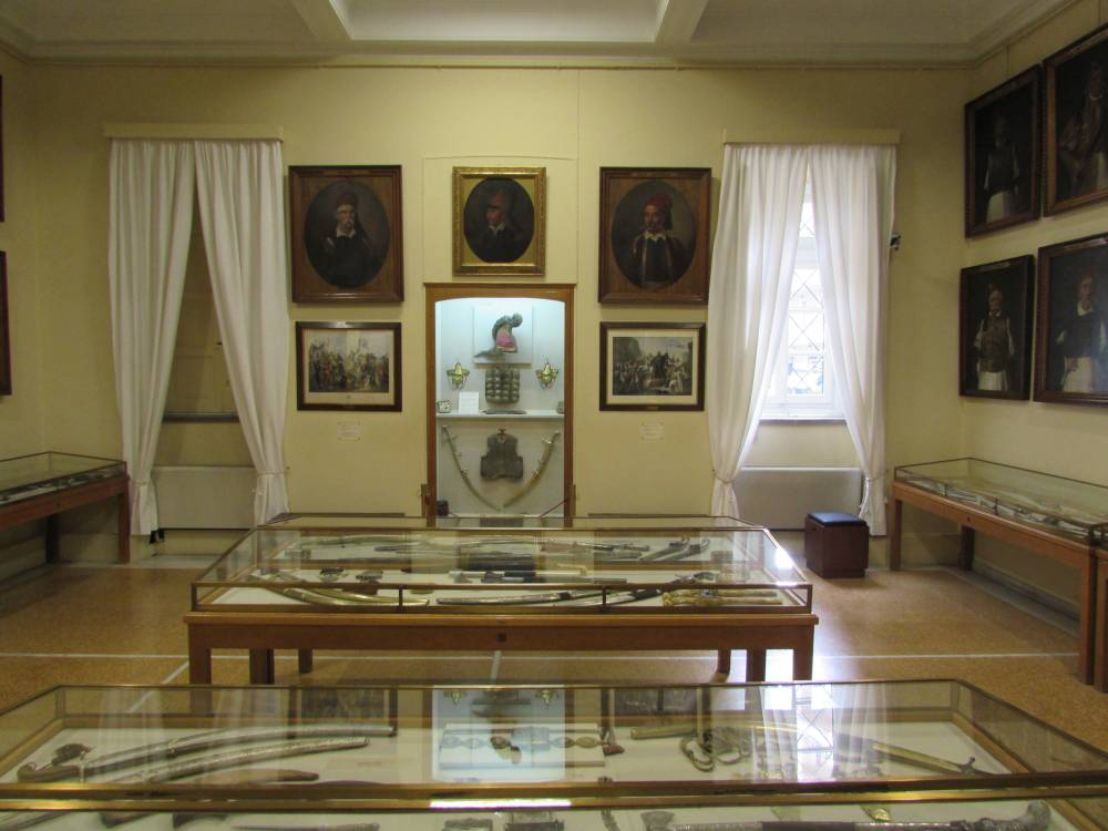 A display inside the National Historical Museum of Greece