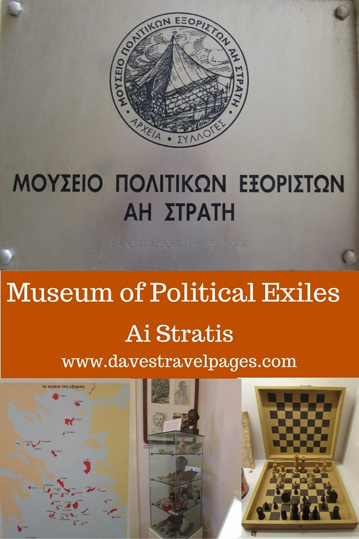 The political exile museum of Ai Stratis in Athens, documents a dark period of modern Greek history. Read more about the political exile museum in Athens.