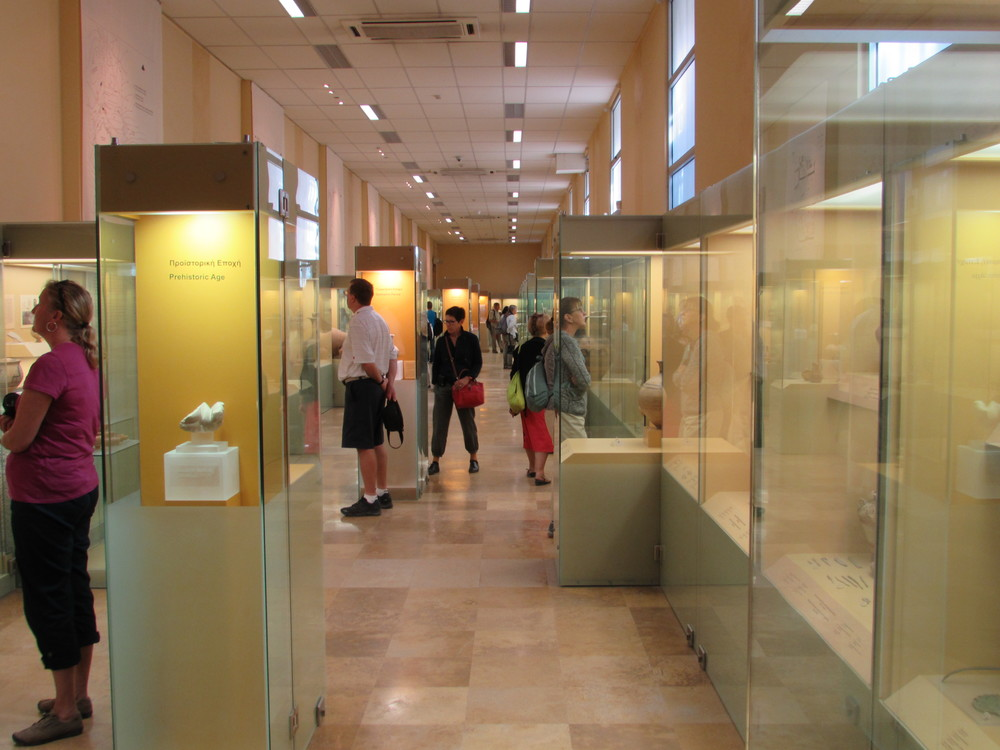 Inside the Museum of the Ancient Agora