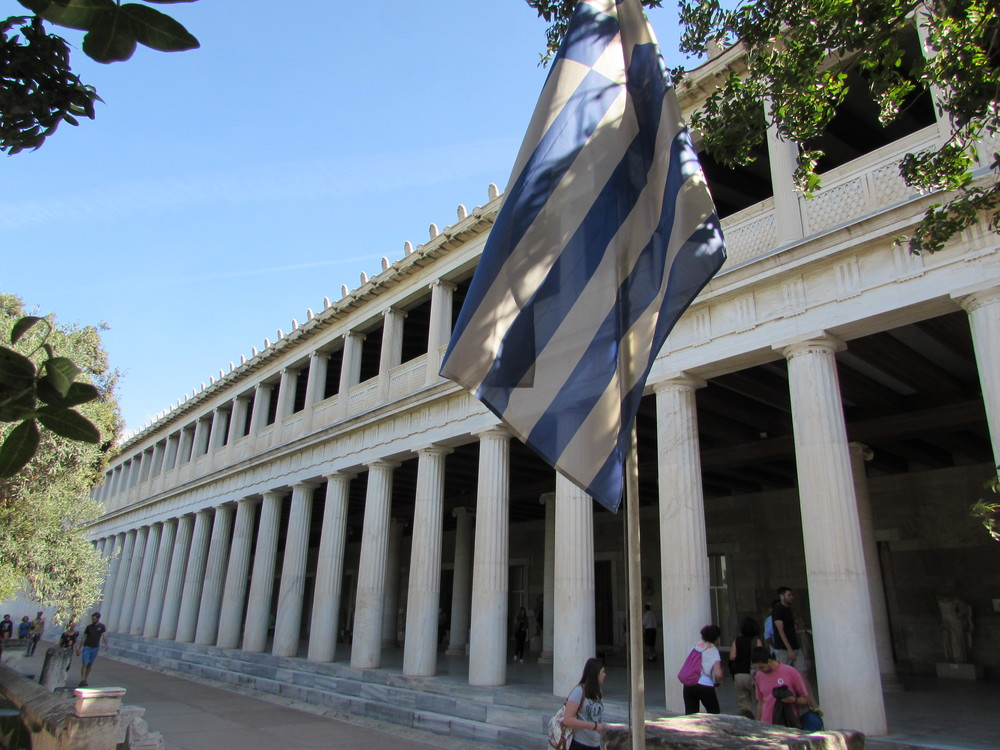 The Museum of the Ancient Agora in Athens