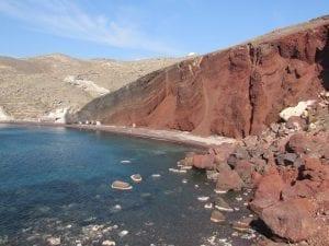 Red Beach Santorini (Kokkini Paralia) – Santorini Travel Guide