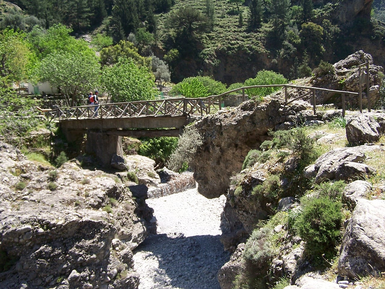 Walking the Samaria Gorge in Crete