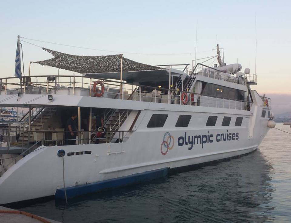 Olympic Cruises Three Island day trip from Athens