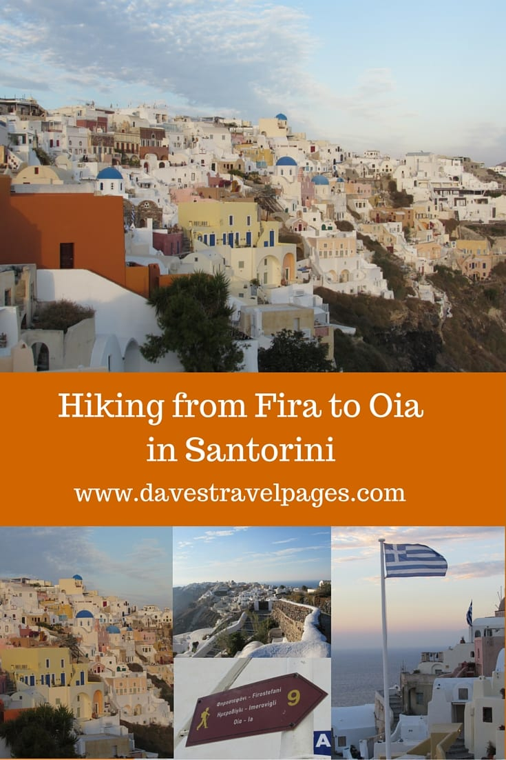 Hiking from Fira to Oia in Santorini - A Scenic Walk