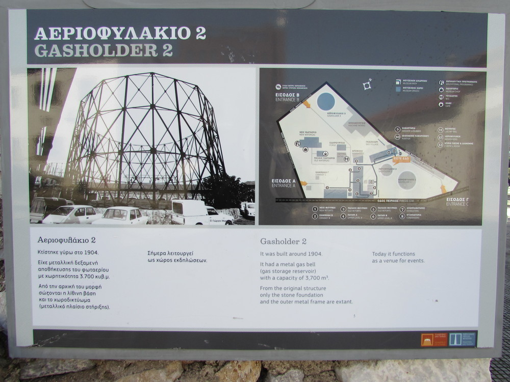 Industrial Gas Museum in Technopolis, Athens