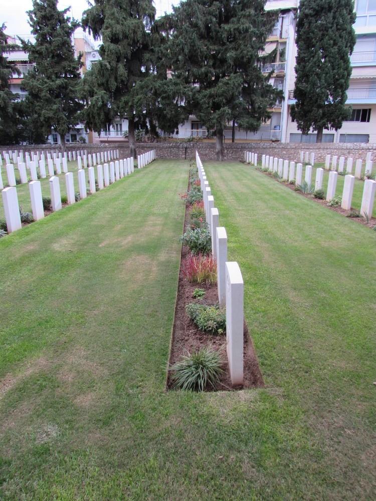 Zeitenlik Allied War Cemetery in Thessaloniki