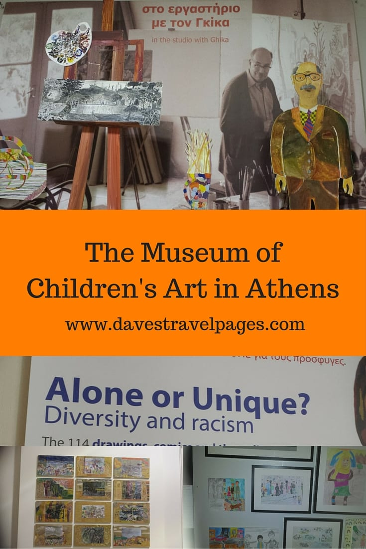 The Museum of Greek Children's Art in Athens, is one of only a handful of museums around the world to feature solely children's art work.