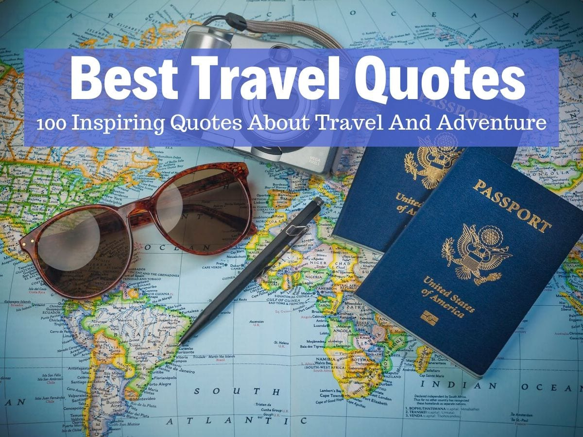 100 Top Travel Quotes