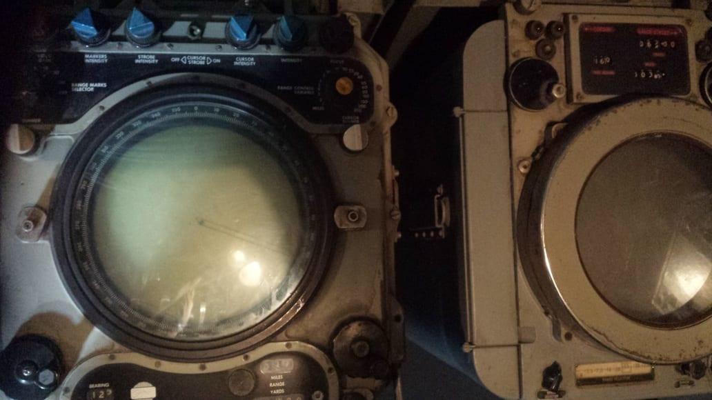 Inside the Destroyer Velos D-16 in Athens