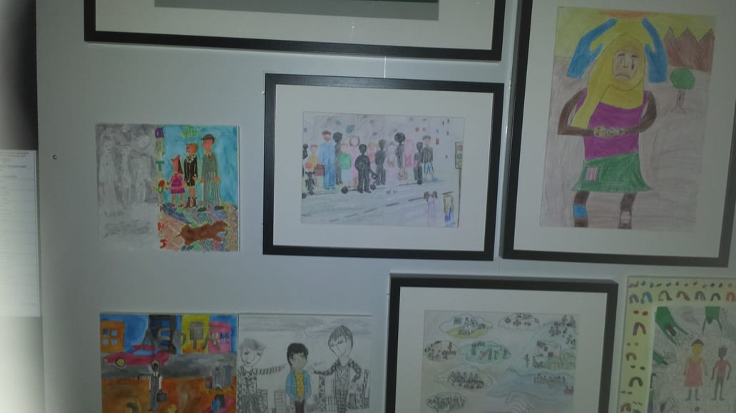 All the artwork on display in the Museum of Children's Art in Athens is created by kids under the age of 15.