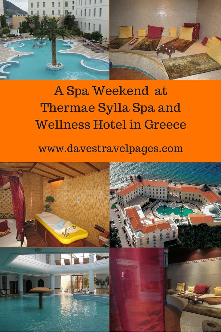 Enjoy a spa weekend at Thermae Sylla Spa and Wellness Hotel in Edipsos, Greece. Read all about this incredible 5 star spa, which is rated one of the top 10 spas in the world!