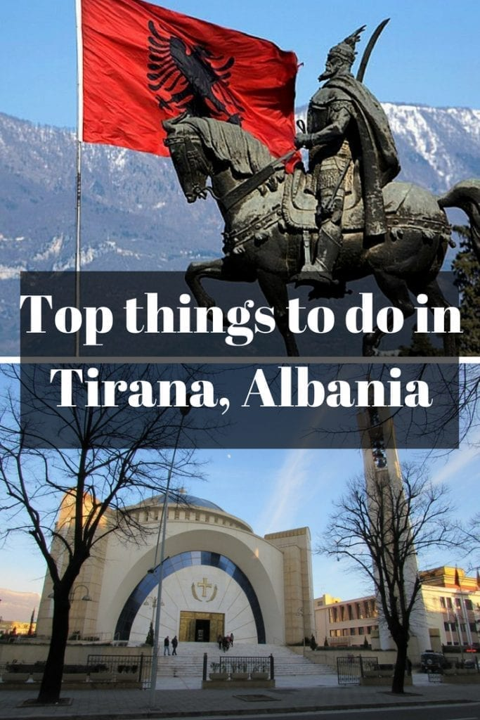 Top things to do in Tirana, Albania.
