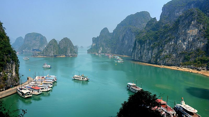 Visiting halong Bay is on my list of things to see and do in Vietnam
