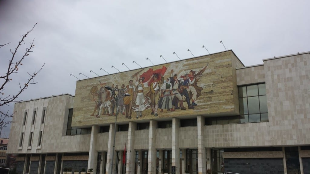 The National History Museum in Tirana