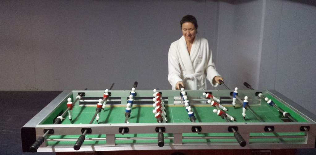 Table games in the Thermae Sylla Spa Hotel