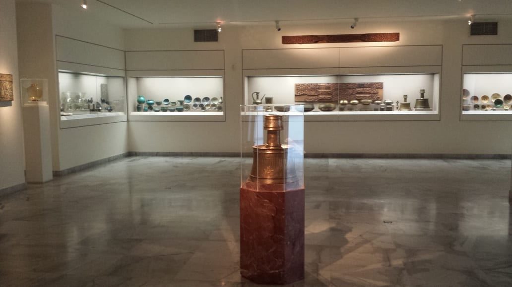 Inside the Museum of Islamic Art in Athens