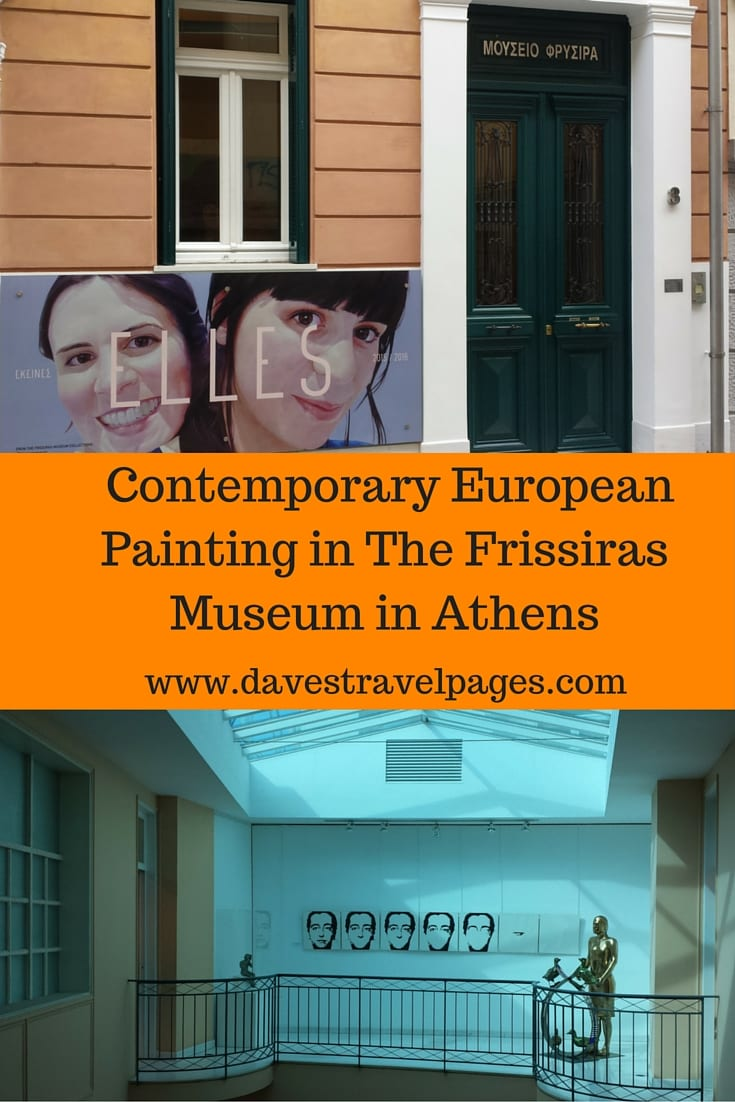 Visit the Frissiras Museum in Athens, the only museum of contemporary modern painting in Greece. The current exhibition features the works of 67 female artists, and is called Elle.
